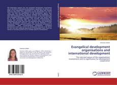 Buchcover von Evangelical development organisations and international development