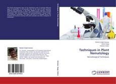 Bookcover of Techniques in Plant Nematology