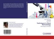 Capa do livro de Techniques in Plant Nematology
