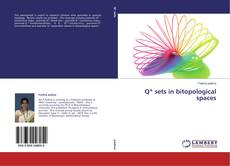 Bookcover of Q* sets in bitopological spaces