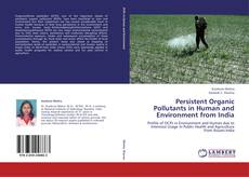 Bookcover of Persistent Organic Pollutants in Human and Environment from India