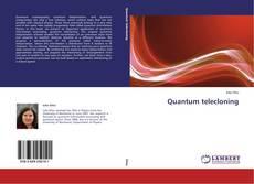 Bookcover of Quantum telecloning