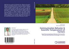 Capa do livro de Communication Behavior & Scientific Temperament of Farmers