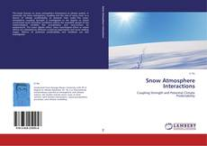 Copertina di Snow Atmosphere Interactions