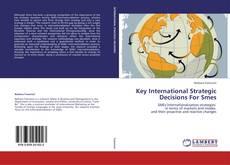 Key International Strategic Decisions For Smes的封面