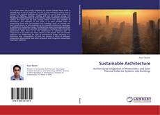 Bookcover of Sustainable Architecture