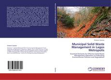 Bookcover of Municipal Solid Waste Management in Lagos Metropolis