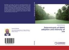 Capa do livro de Determinants of RWHT adoption and intensity of use