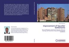 Bookcover of Improvement of Squatter Settlements
