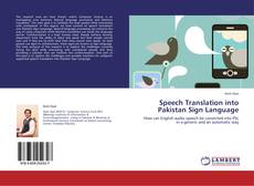 Обложка Speech Translation into Pakistan Sign Language