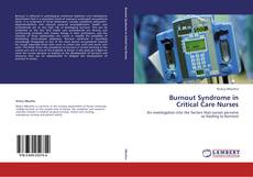 Bookcover of Burnout Syndrome in Critical Care Nurses