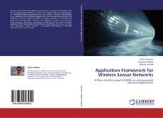 Capa do livro de Application Framework for Wireless Sensor Networks