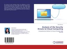 Analysis of the Security threats to Cloud Computing的封面