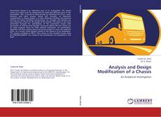 Buchcover von Analysis and Design Modification of a Chassis