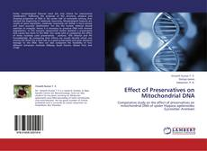 Обложка Effect of Preservatives on Mitochondrial DNA