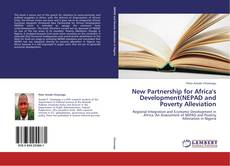 Bookcover of New Partnership for Africa's Development(NEPAD and Poverty Alleviation