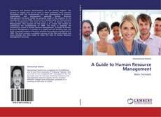 Capa do livro de A Guide to Human Resource Management