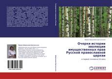 Обложка Очерки истории эволюции имущественных прав Русской православной церкви