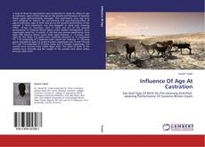 Couverture de Influence Of Age At Castration