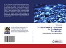 Capa do livro de Establishment of IDF Curves for Prediction of Precipitation