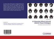 Bookcover of A Tripartite Effort toward Islamic Peace Dialogue