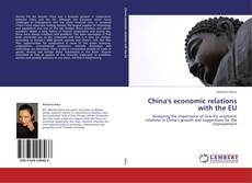 Bookcover of China's economic relations with the EU