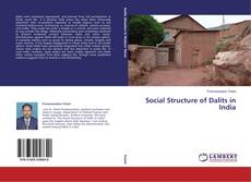 Bookcover of Social Structure of Dalits in India