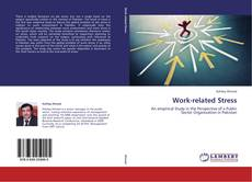 Bookcover of Work-related Stress