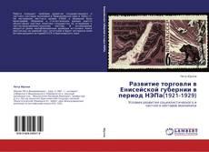 Bookcover of Развитие торговли в Енисейской губернии в период НЭПа(1921-1929)