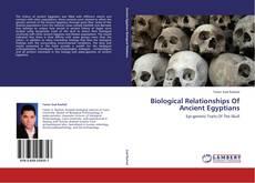 Capa do livro de Biological Relationships Of Ancient Egyptians