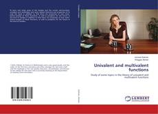 Bookcover of Univalent and multivalent functions