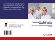 Portada del libro de Impact of Job Satisfaction on Mental Health