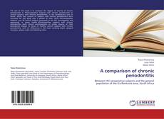 Bookcover of A comparison of chronic periodontitis