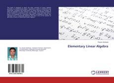 Capa do livro de Elementary Linear Algebra