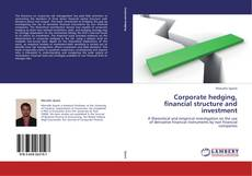 Buchcover von Corporate hedging, financial structure and investment