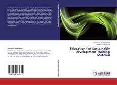 Capa do livro de Education for Sustainable Development-Training Material