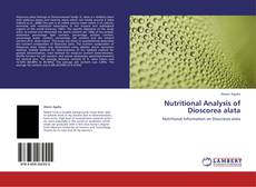 Copertina di Nutritional Analysis of Dioscorea alata