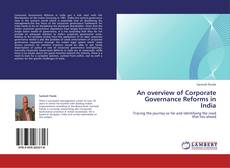 Copertina di An overview of Corporate Governance Reforms in India