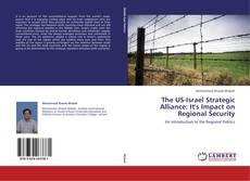 Capa do livro de The US-Israel Strategic Alliance: It's Impact on Regional Security