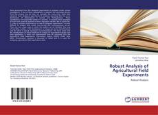 Bookcover of Robust Analysis of Agricultural Field Experiments