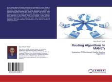 Routing Algorithms In MANETs kitap kapağı