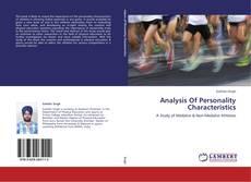 Copertina di Analysis Of Personality Characteristics