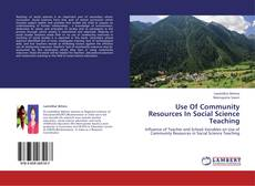 Bookcover of Use Of Community Resources In Social Science Teaching