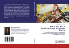 Bookcover of UNDP and Social Development of Women in Nigeria