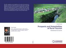 Prospects and Potentialities of Rural Tourism的封面