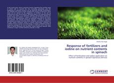 Обложка Response of fertilizers and iodine on nutrient contents in spinach