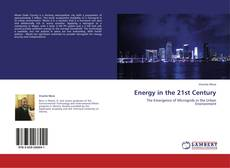 Couverture de Energy in the 21st Century