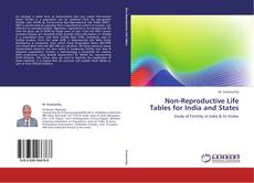 Non-Reproductive Life Tables for India and States kitap kapağı