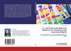 L1 and Culturally Relevant Material for Teaching and Learning English的封面