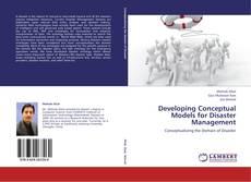 Developing Conceptual Models for Disaster Management kitap kapağı